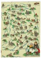 Berry - Marche - Limousin - Régions Illustrées - Barré-Dayez - Pas Circulé - Landkaarten