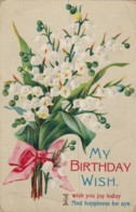 AR72 Greetings - My Birthday Wish - Posy Of Flowers - Birthday