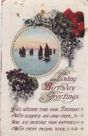 AR72 Greetings - Loving Birthday Greetings - Sailing Boats - Birthday