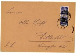 D 26 Paar / MEF Aus Bitterfeld Ortsbrief - Briefe U. Dokumente
