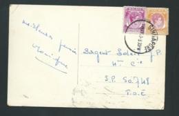 "Cpa ""  Connaught Drive Singapop ""  Affranchie En 1953  - Raa 3626 - Singapur (...-1959)"