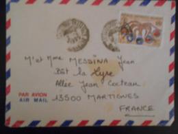 Madagascar Lettre De Antananarivo 1995 Pour Martigues - Madagascar (1960-...)