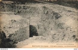 D24  MONTCARET  Villa Gallo Romaine - Les Substructures - Frankrijk