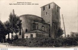 D24  MONTCARET  Eglise Saint Pierre Côté De L'Abside - Frankrijk