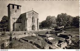 D24  MONTCARET  Eglise Des XIe Et XIIe Siècles Bâtie Sur Les Ruines De La Villa Gallo Romaine - France
