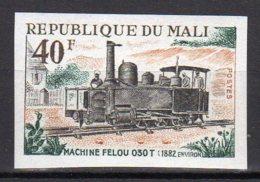 Mali Yvert N° 143 Neuf Non Dentélé Locomotive Lot 14-157 - Mali (1959-...)