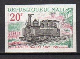 Mali Yvert N° 142 Neuf Non Dentélé Locomotive Lot 14-156 - Mali (1959-...)