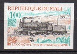 Mali Yvert N° 146 Neuf Non Dentélé Locomotive Lot 14-160 - Mali (1959-...)