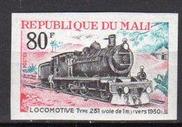 Mali Yvert N° 145 Neuf Non Dentélé Locomotive Lot 14-159 - Mali (1959-...)