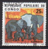 Congo Yvert N° 421oblitéré éléphants Lot 15-89 - République Démocratique Du Congo (1964-71)