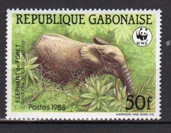 Gabon  Yvert N° 642 Neuf éléphants Lot 15-122 - Gabon (1960-...)