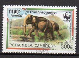 Cambodge Yvert N° 1399 Oblitéré éléphants Lot 15-172 - Cambogia