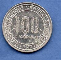 Tchad-  100 Franc 1972  -  état  TTB   -  Km # 2 - Tsjaad
