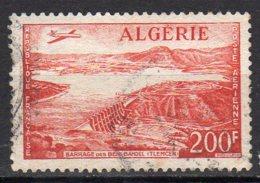 Algérie Yvert N° 14 Aérien Oblitéré Lot 16-101 - Algeria (1924-1962)