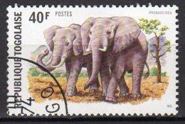 Togo Yvert N° 817 Oblitéré éléphants Lot 16-118 - Togo (1960-...)