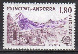 Andorre  Yvert N° 313 Neuf Lot 17-170 - Andorra Francese