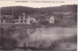 91-SAINT-CHÉRON- LE VILLAGE DE MIGAUDON PRIS DE LA GARE - Saint Cheron
