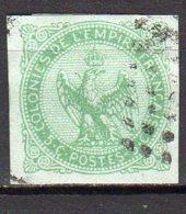 Emissions Générales Aigle Impérial Yvert N° 2 Oblitéré Lot 19-79 - Eagle And Crown