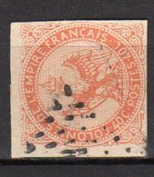 Emissions Générales Aigle Impérial Yvert N° 5 Oblitéré Lot 19-80 - Eagle And Crown