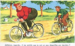 """Jean Chaperon : """"Adhémar, Regarde...il Me Semble Que Je Suis Un Peu Dégonflée Par Derrière ?"""" - Chaperon, Jean"""