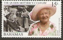 Bahamas  1999  SG 1184  Queen Mothers Centenary  Unmounted Mint - Bahamas (1973-...)