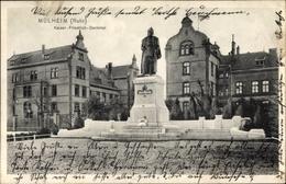 Cp Mülheim An Der Ruhr, Blick Auf Das Kaiser Friedrich Denkmal - Allemagne