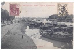 9479 Vietnam Cochinchine Saigon Entree De L'arroyo Chinois Mail Stamps Indo - Chine - Vietnam