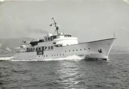 Bateau - M.Y Mathilda - Porte Cervo Sardegna 1966 - Poste Maritime - Ferries
