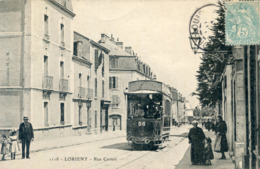 56   LORIENT TRAMWAY RUE CARNOT - Lorient