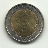2004 - San Marino 2 Euro Borghesi - Senza Confezione - San Marino