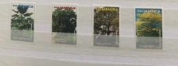 Jamaica 2000 Native Trees Set MNH - Jamaica (1962-...)