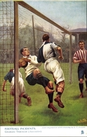Artiste Cp Football Incidents, Charged Through, Association, Fußballspiel, Torwart, Tuck 1746 - Illustrators & Photographers