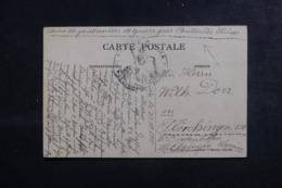 """FRANCE / ALGÉRIE - Carte Postale De Saïda Pour Diedenhofen En 1915, Mention """" Service Des PG Par Pontarlier. """" - L 44552 - Marcophilie (Lettres)"""