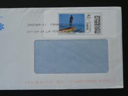 Pêcheur D'Afrique Timbre En Ligne Montimbrenligne Sur Lettre (e-stamp On Cover) TPP 4661 - Gepersonaliseerde Postzegels (MonTimbraMoi)
