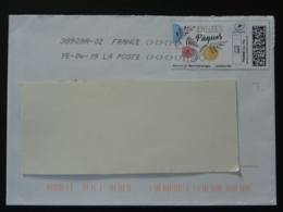 Oeuf De Paques Easter Timbre En Ligne Montimbrenligne Sur Lettre (e-stamp On Cover) TPP 4672 - Easter