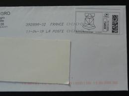 Cloche De Paques Easter Bell Timbre En Ligne Montimbrenligne Sur Lettre (e-stamp On Cover) TPP 4674 - Easter
