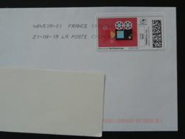 Cinema Timbre En Ligne Montimbrenligne Sur Lettre (e-stamp On Cover) TPP 4694 - Cinema