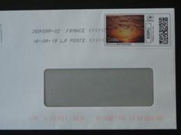 Vol D'oies Sauvages National Geographic Timbre En Ligne Montimbrenligne Sur Lettre (e-stamp On Cover) TPP 4781 - Oche