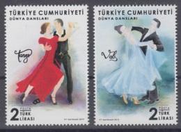 8.- TURKEY 2019 WORLD DANCE - 1921-... Republic