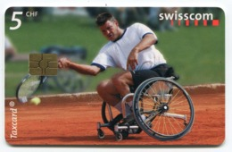 Telecarte °_ Suisse-107-Tennis Simple- R/V 25F9 - Zwitserland