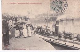 Bv - Cpa LORIENT - Débarquement Des Marchandes De Sardines - Lorient