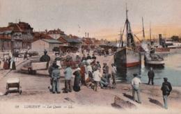 Bv - Cpa LORIENT - Les Quais - Lorient