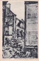 Bv - Cpa LORIENT 1943 - Sur La Façade Du Théâtre L'affiche Du 16.1.43 (Coll. Pin N° 1) - Lorient