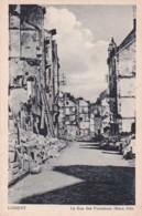 Bv - Cpa LORIENT 1943 - La Rue Des Fontaines (Mars 1943) (Coll. Pin ) - Lorient