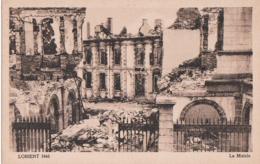 Bv - Cpa LORIENT 1943 - La Mairie (Coll. Pin N° 10) - Lorient