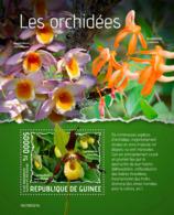 Z08 GU190321b GUINEA (Guinee) 2019 Orchids MNH ** Postfrisch - Guinea (1958-...)
