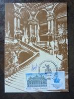 2006 CONGRES FFAP PARIS OPERA GARNIER Signé MARTIN MORCK - Cartas Máxima