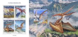 Z08 SRL190802ab SIERRA LEONE 2019 Flying Dinosaurs MNH ** Postfrisch - Sierra Leone (1961-...)