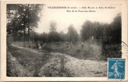 94 VILLECRESNES - Allée Royale Et Allée Saint-Hubert - Villecresnes