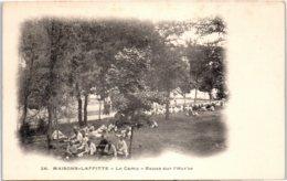 78 MAISONS LAFFITTE - Le Camp - Repas Sur L'herbe - Maisons-Laffitte